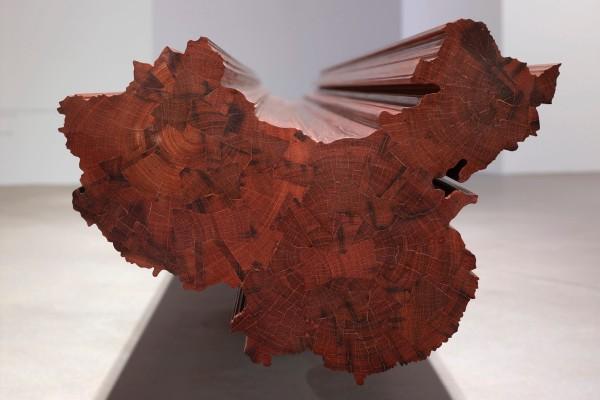 Installation view of artwork 'Bench'