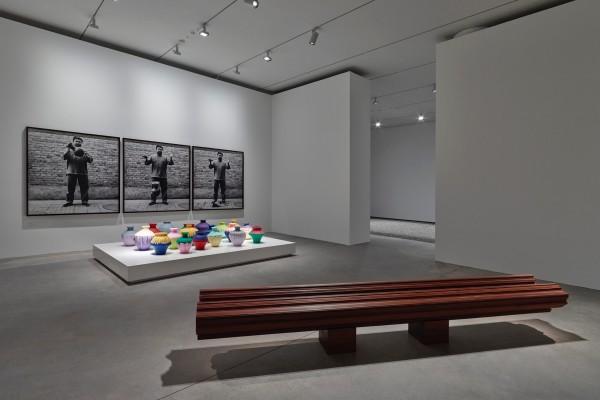 Installation view of exhibition 'Ai Weiwei: Ruptures'