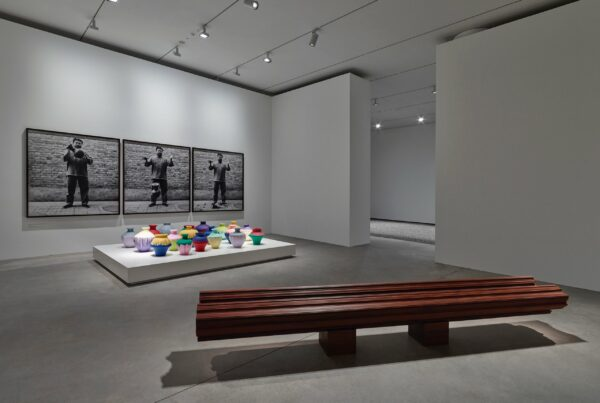 Installation view of exhibition 'Ai Weiwei: Ruptures'