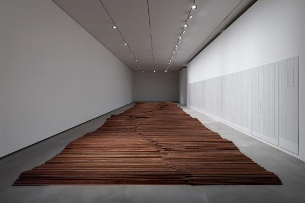 Installation view of artwork 'Straight'