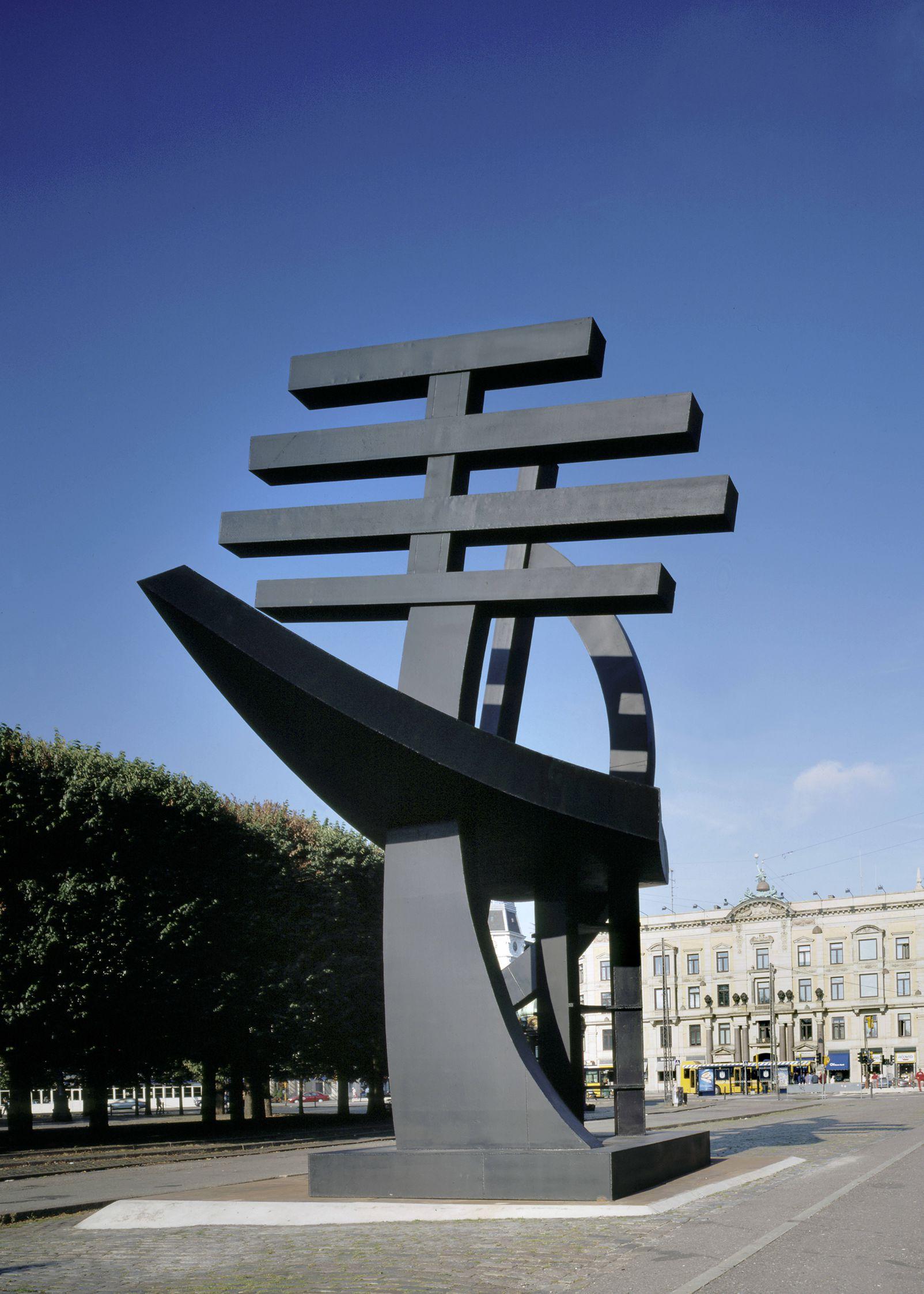 Robert Jacobsen skulpturen