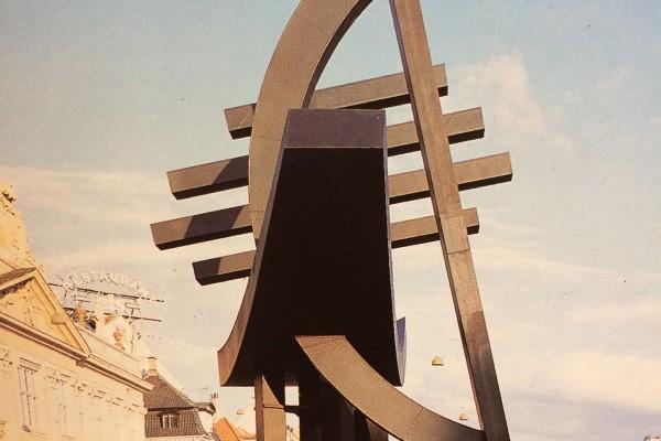 Sculpture at display